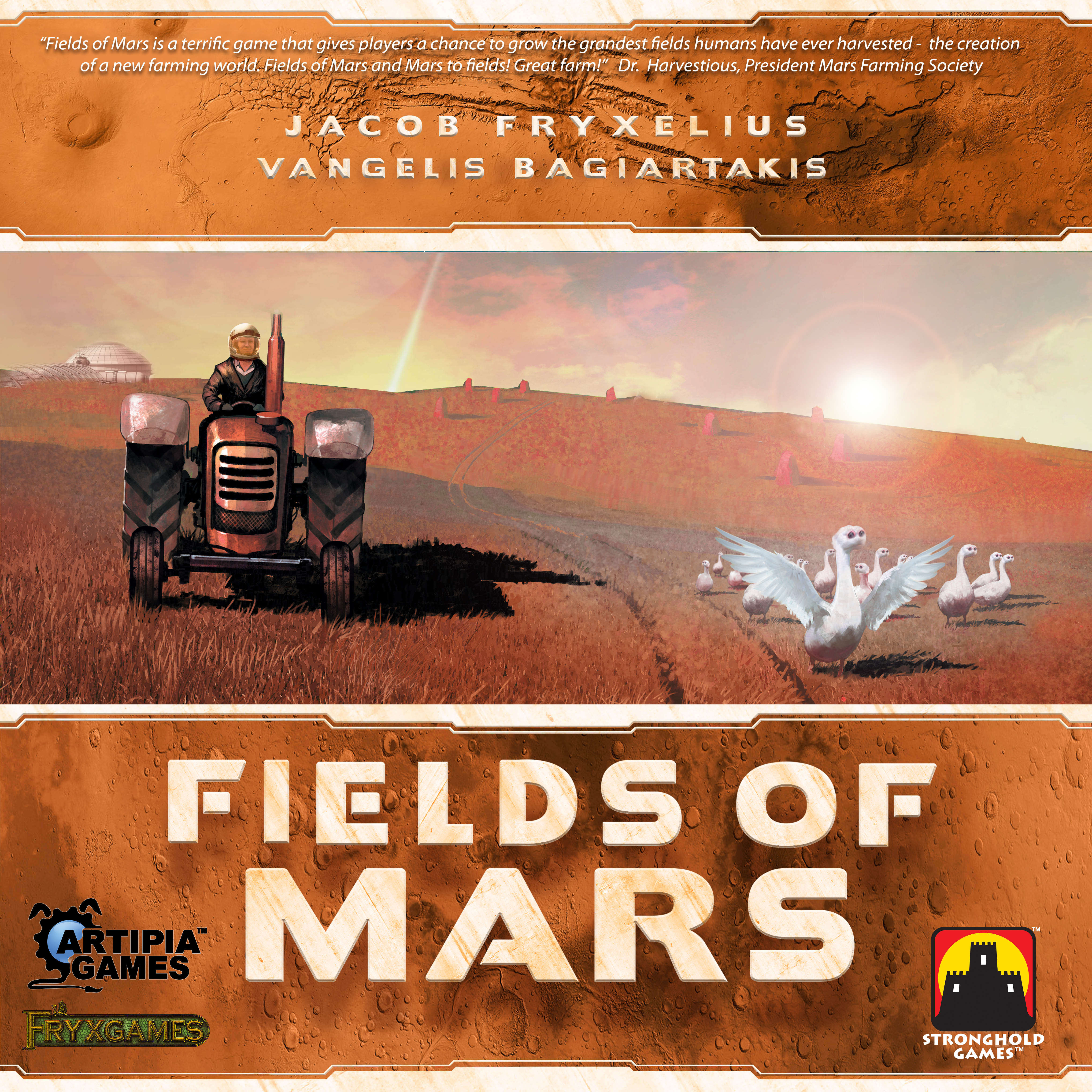 FIELDS OF MARS COVER